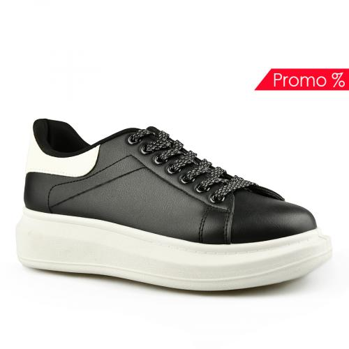 дамски ежедневни обувки черни 0142034