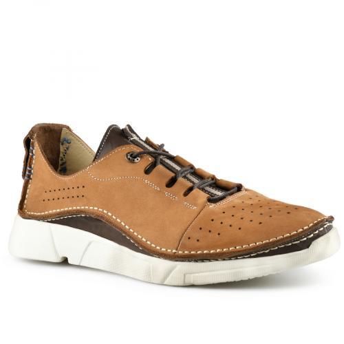 мъжки ежедневни обувки кафяви 0141181