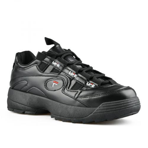 дамски ежедневни обувки черни 0142728