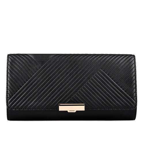 дамска елегантна чанта черна 0128264