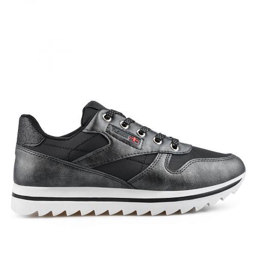 дамски ежедневни обувки черни 0136884