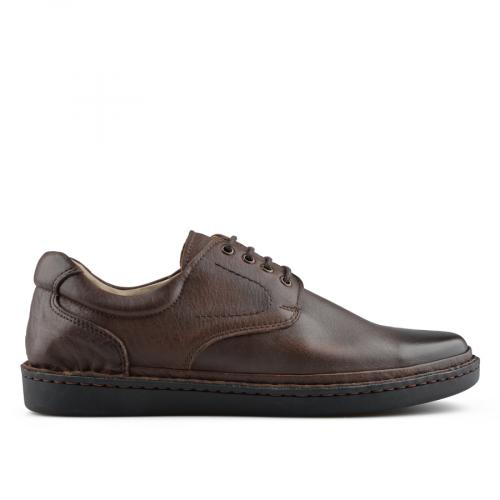 мъжки ежедневни обувки кафяви 0139721