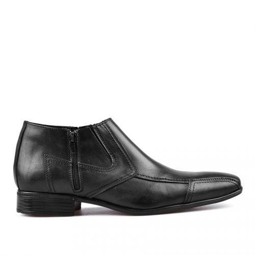 мъжки елегантни боти черни 0117137