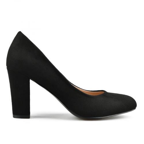 дамски елегантни обувки черни 0142894