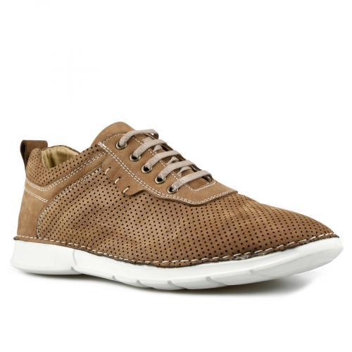 мъжки ежедневни обувки кафяви 0144279