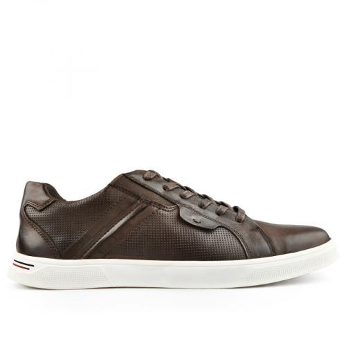 мъжки ежедневни обувки кафяви 0140749