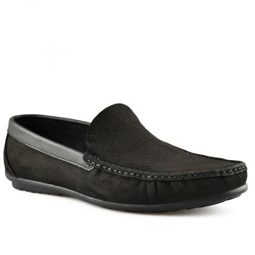 мъжки ежедневни обувки черни 0141247
