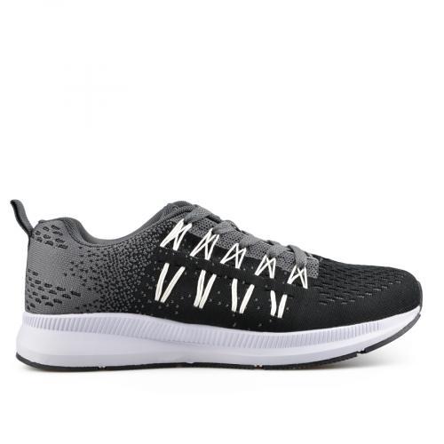 мъжки ежедневни обувки черни 0136905