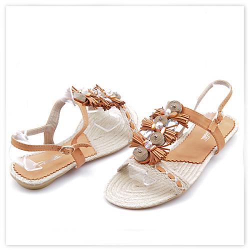 дамски сандали кафяви 0113039