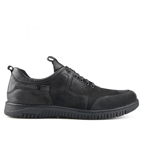 мъжки ежедневни обувки черни 0139494