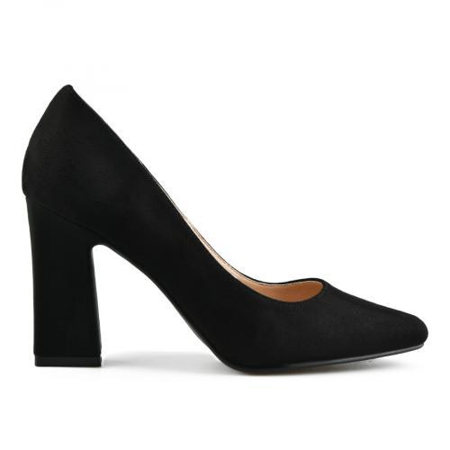 дамски елегантни обувки черни 0143105