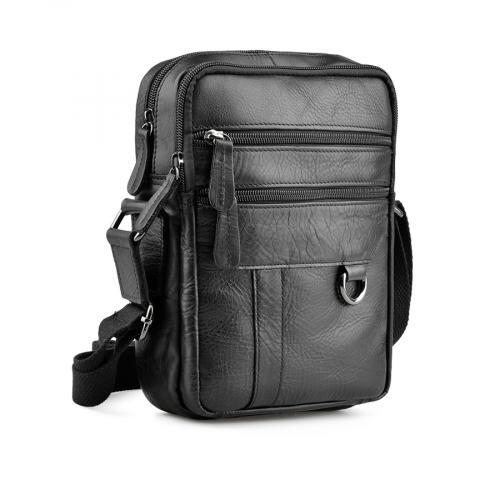 мъжка ежедневна чанта черна 0138050