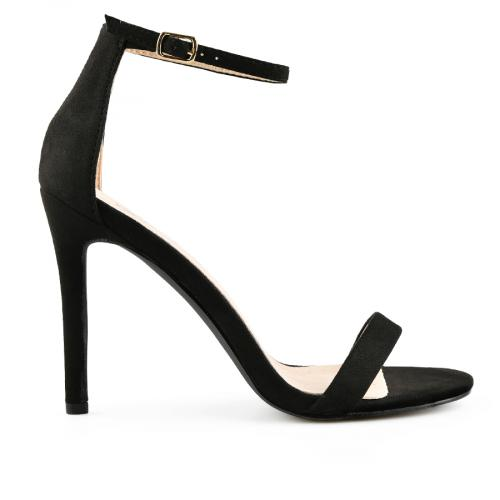 дамски елегантни сандали черни 0140052