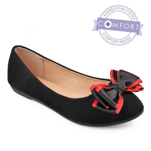 дамски ежедневни обувки черни 0136613