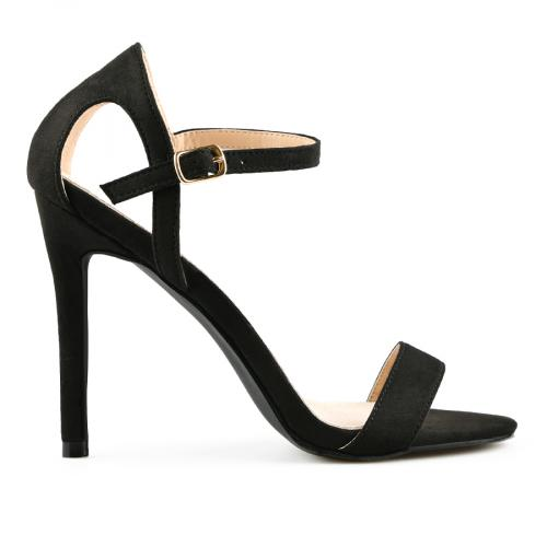 дамски елегантни сандали черни 0140056