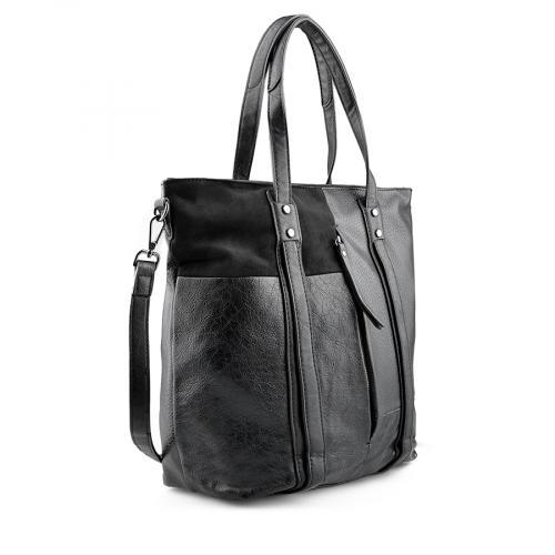 дамска ежедневна чанта черна 0141078