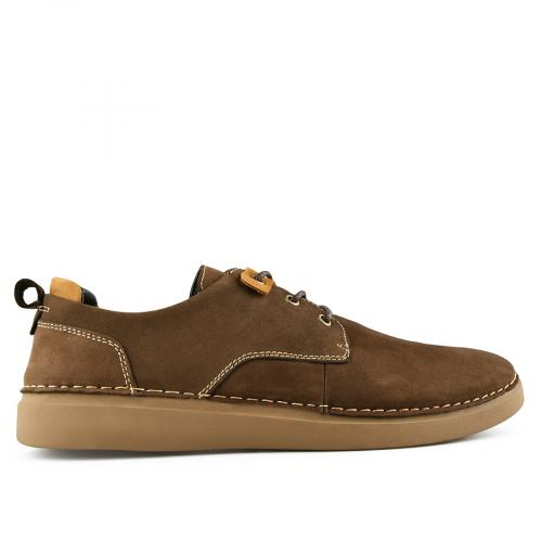 мъжки ежедневни обувки кафяви 0140759