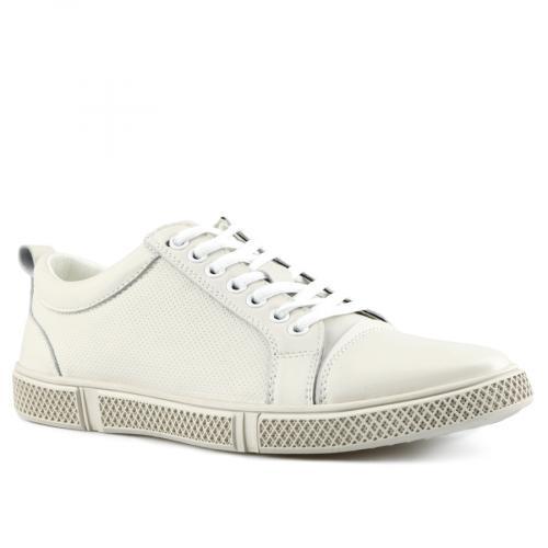 мъжки ежедневни обувки бели 0143459