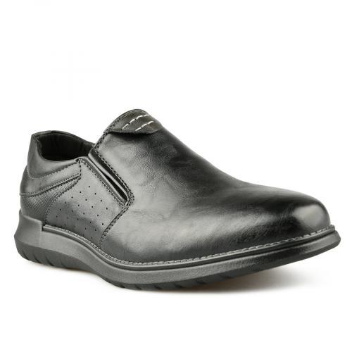 мъжки ежедневни обувки черни 0144932