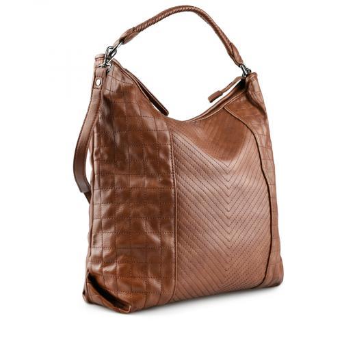 дамска ежедневна чанта кафява 0143378