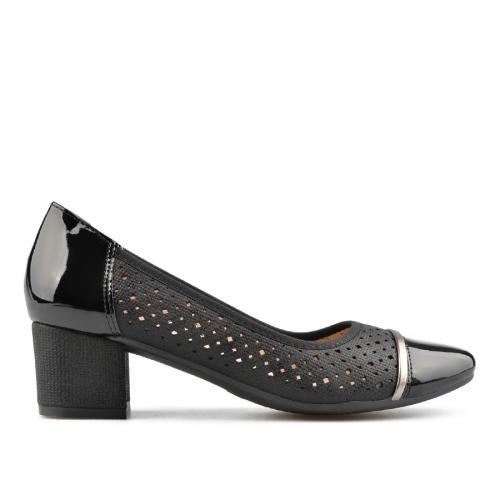 дамски елегантни обувки черни 0137680