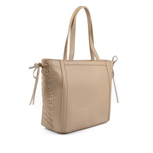 дамска ежедневна чанта бежова 0136121