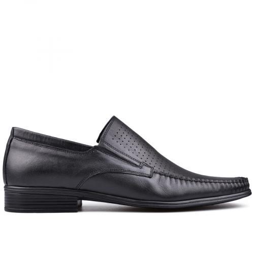 мъжки елегантни обувки черни 0131220