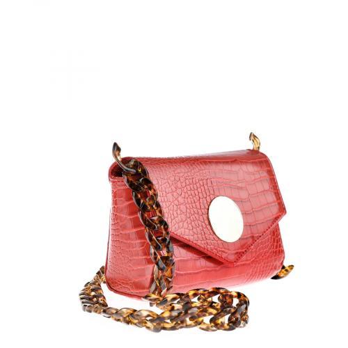 дамска ежедневна чанта червена 0141826