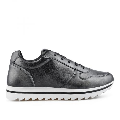 дамски ежедневни обувки черни 0136850