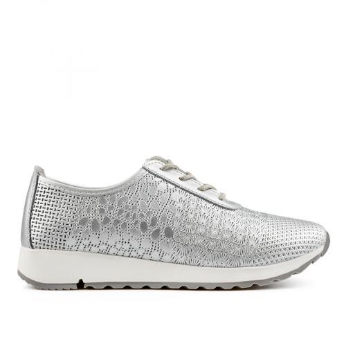 дамски ежедневни обувки сребристи 0137191