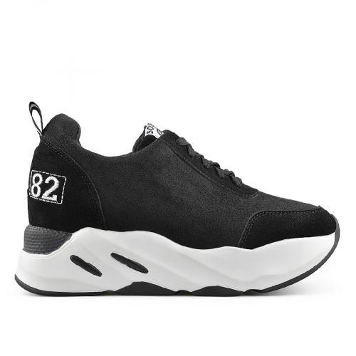 дамски ежедневни обувки черни 0139392