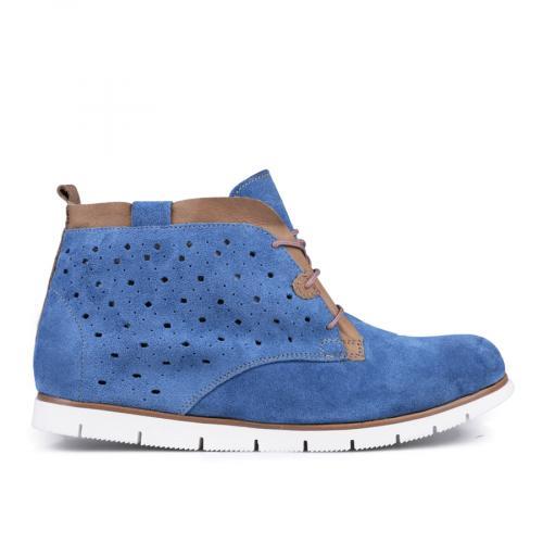 дамски ежедневни обувки сини 0127636