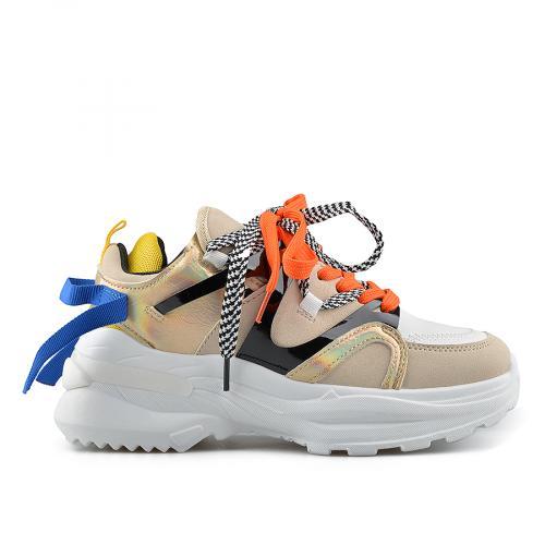 дамски ежедневни обувки бежови 0139038