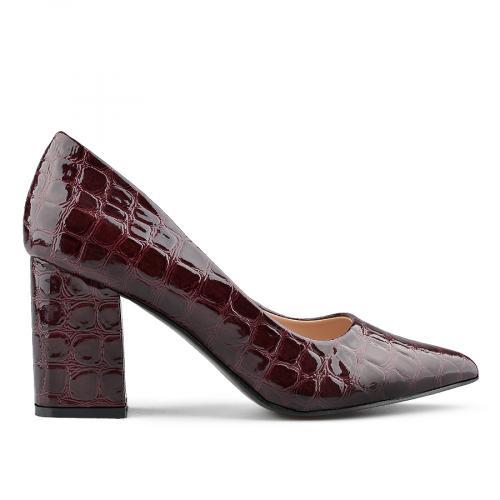 дамски елегантни обувки бордо 0138995