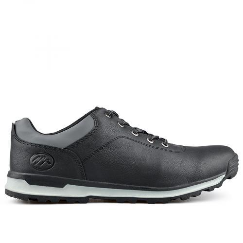 мъжки ежедневни обувки черни 0135591