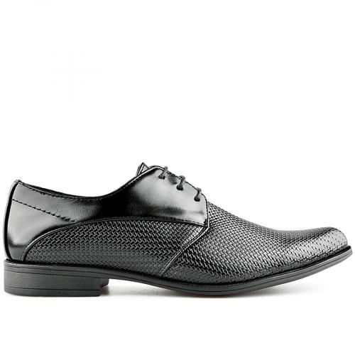 мъжки елегантни обувки черни 0140535