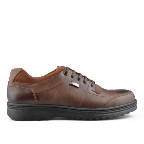 мъжки ежедневни обувки кафяви 0139722