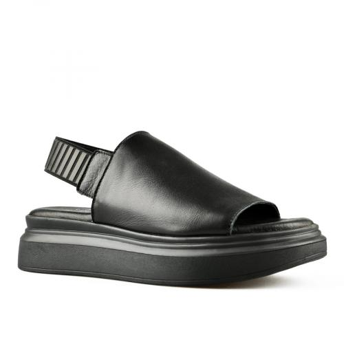 дамски ежедневни сандали черни 0144500