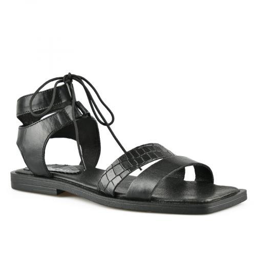 дамски ежедневни сандали черни 0144409