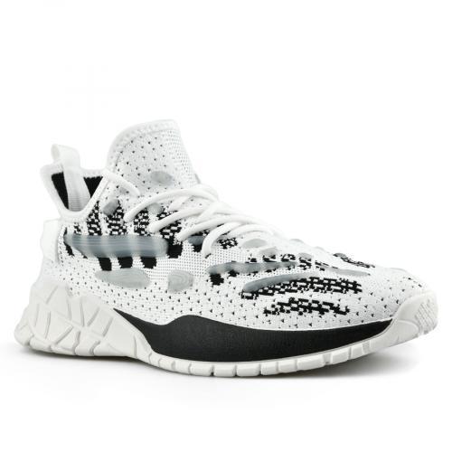 мъжки ежедневни обувки бели 0142805
