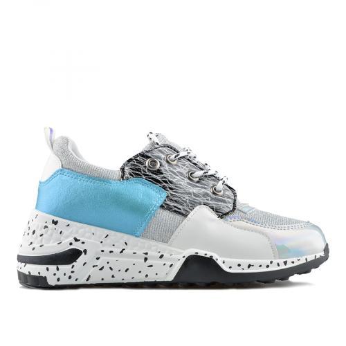 дамски ежедневни обувки бели 0138829
