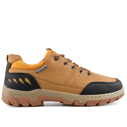 мъжки ежедневни обувки кафяви 0138880
