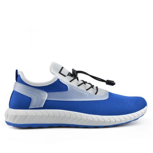 мъжки ежедневни обувки сини 0136913