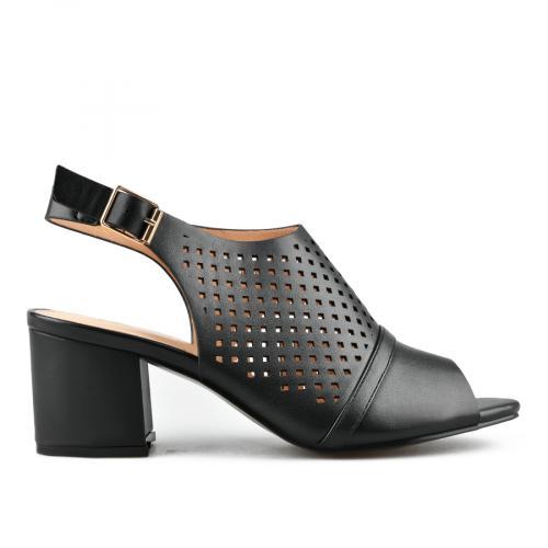 дамски елегантни сандали черни 0143271