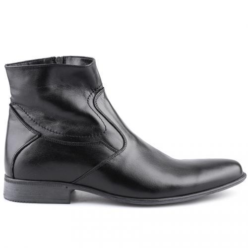 мъжки елегантни боти черни 0112256