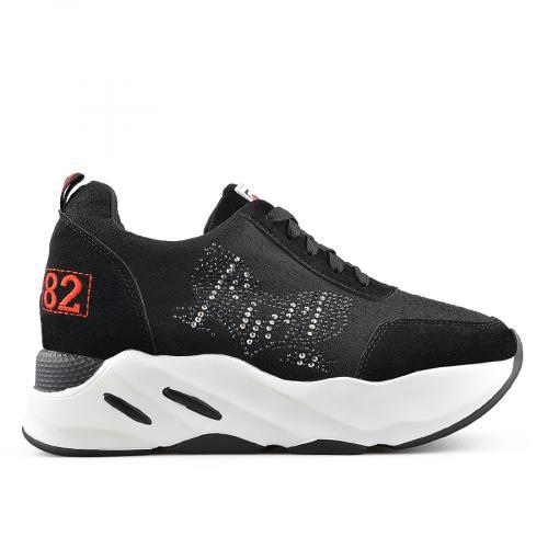 дамски ежедневни обувки черни 0139393