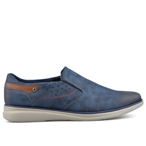 мъжки ежедневни обувки сини 0136986
