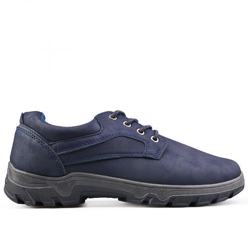 мъжки ежедневни обувки тъмно сини 0135108