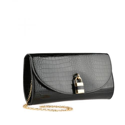 дамска елегантна чанта черна 0140899