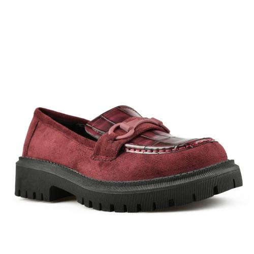 дамски ежедневни обувки бордо 0144978